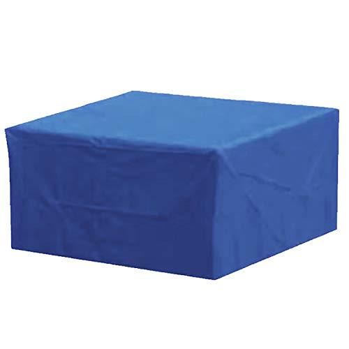 Funda para Muebles,Conjunto De Muebles De Terraza, Hebilla De Mesa De Terraza Rectangular De Césped Al Aire Libre, Cubierta De Mesa Y Silla