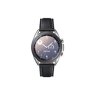Samsung Galaxy Watch3, runde Bluetooth Smartwatch für Android, drehbare Lünette, LTE, Fitnessuhr, Fitness-Tracker, großes Display, 41 mm, silber, inkl. 36 Monate Herstellergarantie [Exkl. bei Amazon] (B08CRY6QZ5) | Amazon price tracker / tracking, Amazon price history charts, Amazon price watches, Amazon price drop alerts