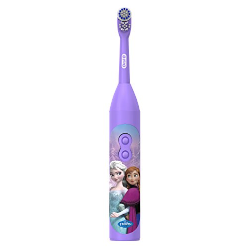 Oral-B Pro-Health Jr. Battery Powered Kid's Toothbrush featuring Disney's Frozen, Soft, 1 ct