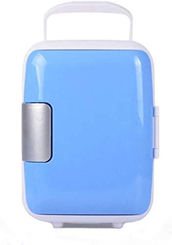 YYhkeby Mini Frigorifero con Freezer Coca Cola Carino Mini Frigorifero per Auto Portatile Mini frigo Jialele (Color : Blue)