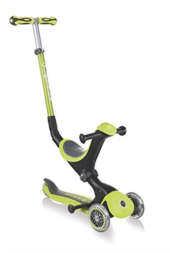 Trottinette GLOBBER 3 Roues MODELE GO UP Deluxe Lime Green