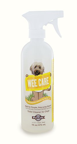 PetSafe Wee Care Pet Loo Enzyme Cleaner 100% Biodegradable Chemical Free Erases Stains and Odors, PAC00-14492, 16-Ounce,Clear