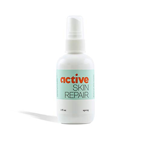 Active Skin Repair Spray - Natural & Non-Toxic First Aid Healing Ointment & Antiseptic Spray for Minor Cuts, Wounds, Scrapes, Rashes, Sunburns, and Other Skin Irritations (Single, 3 oz Spray)