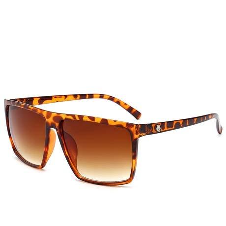 WDFDZSW 2020 nuevos Hombres Square Marca Estilo Gafas de Sol de la Pendiente de la Vendimia Diseño Barato Gafas de Sol Gafas de Sol (Lenses Color : 5)