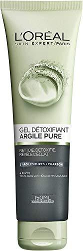 L'Oréal Paris Gel Détoxifiant Visage Argile Pure...