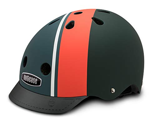 Nutcase Street-Element Stripe (mat) helm