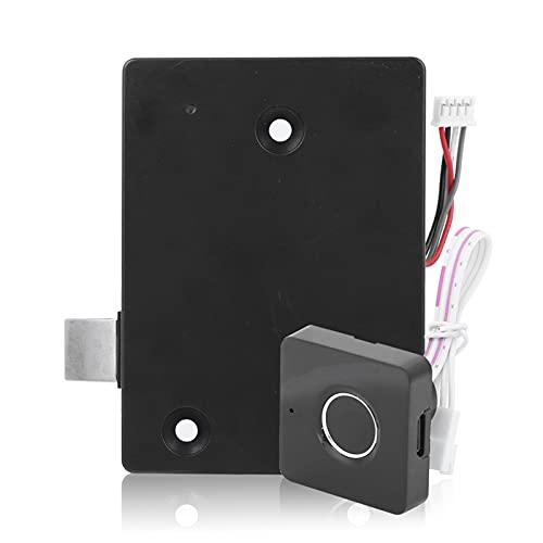 Bloqueo De Huellas Dactilares Carga USB Desbloqueo Rápido Dispositivo De Seguridad Biométrico Inteligente Antirrobo Para El Hogar Para Cajones, Frigoríficos, Armarios