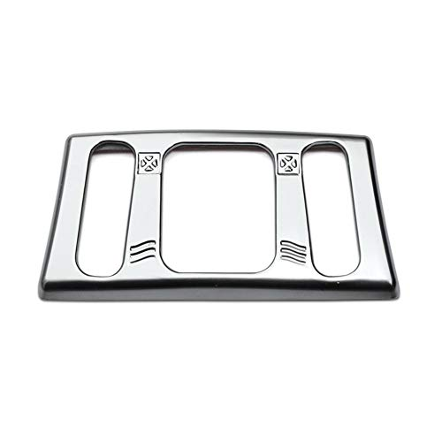 N\A Cromados Interior Coche Accesorios for el Coche Qashqai J11 2014 2015 X-Trail Xtrail T32 2013 Interior Consola Central Salida de Aire del Ajuste de la Cubierta del Enchufe Moldura