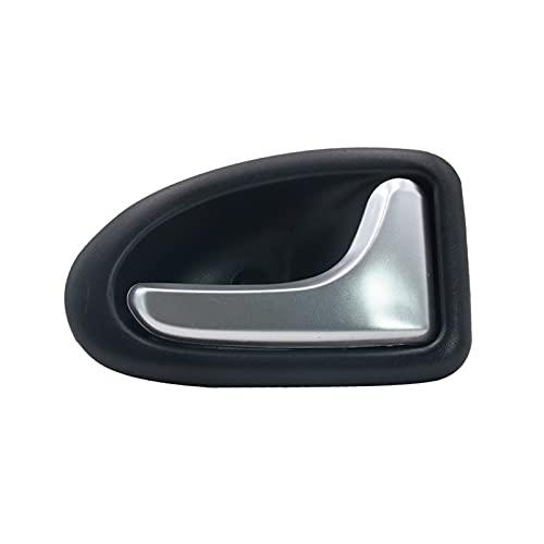 Prospective A estrenar Coche derecho de la puerta del lado de la puerta de la puerta de la puerta negra y plateada Ajuste para RENAULT CLIO FIT PARA RENAULT MEGANE