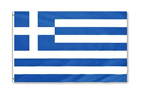 Star Cluster 90 x 150 cm Flagge Griechenlands/Griechenland Fahne/Σημαία της Ελλάδας/Flag of Greece (GR 90 x 150 cm)