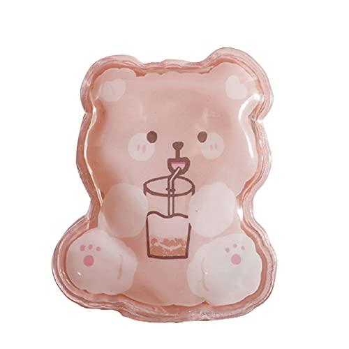 Beifeng Bolsa reutilizable de botella de agua caliente con patrón lindo para niños Mini calentador de mano auto-calentamiento instantáneo paquete de calefacción