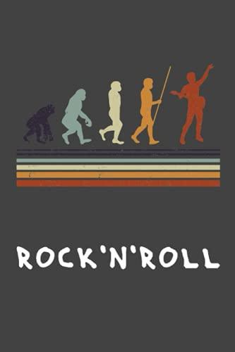 Rock'n'Roll Guitarra Guitarrista Cuaderno de Notas: Guitarras Cuaderno de notas para Guitarrista y músico - 120 páginas rayadas para citas, notas o ... ca. DINA5   Hardrock Regalo para guitarristas