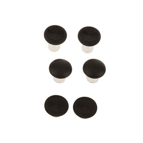 6pcs Swap Thumb Grips Stick Button Cap Cover Thumbsticks Griffe Ersatzteile für Xbox One Elite Controllers