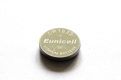 10X CR16323V batteria a bottone al litio 125mAh senza marchio ware eunicell