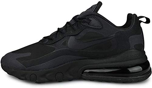 Nike Scarpe Unisex Sneaker Air Max 270 React in Pelle Nera AT6174-003
