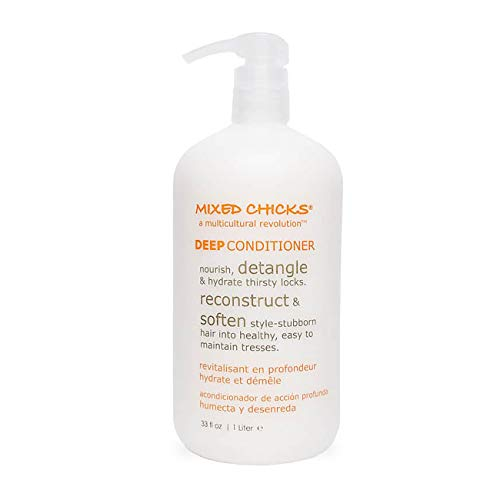 Mixed Chicks Detangling Deep Conditioner - Softens, Moisturizes & Detangles Straight or Curly...