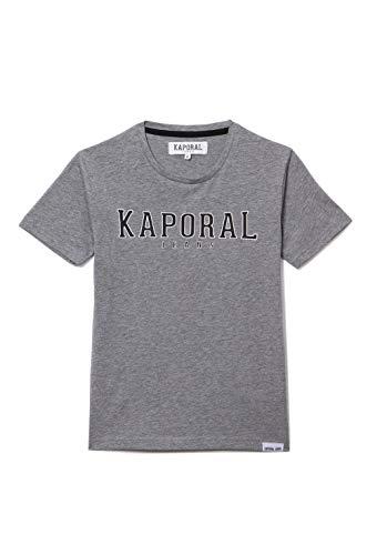 Kaporal - T-Shirt régular garçon imprimé en Relief - Orad - Garçon - 14A - Gris