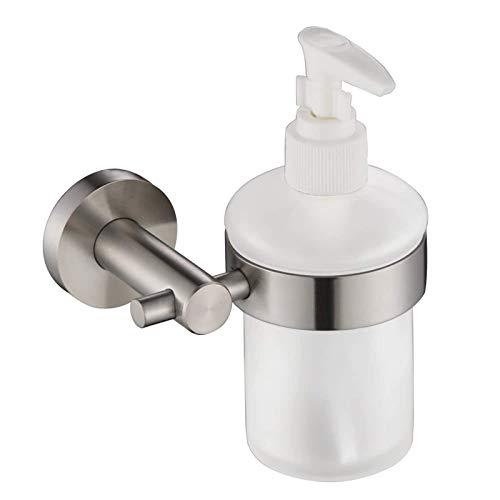 Dispensador de jabón para baño, de alta calidad, para montar en la pared, jabón líquido, loción corporal, dispensador de cristal, botella, baño, cocina, para champú para el cabello y ducha