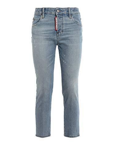 DSquared Pantalone 5 tasche - 42, BLUE