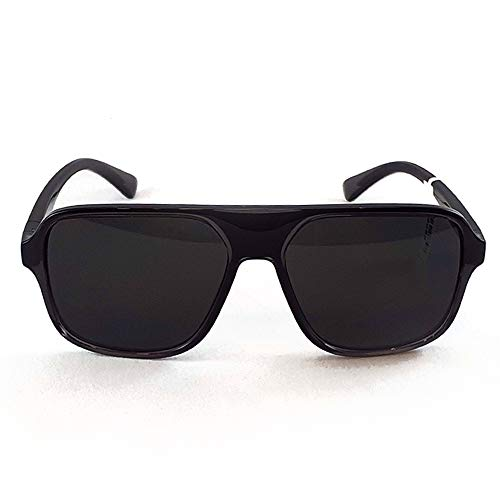 Dolce & Gabbana Herren 0DG6134 Sonnenbrille, TRANSPARENT Grey/Black, 57