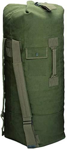 Petate estilo militar EE.UU. verde oliva 90 x 33 algodón loneta con asa transporte...