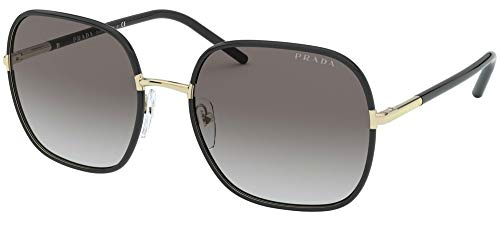 Prada Gafas de Sol PR 67XS Black/Grey Shaded 58/19/145 mujer