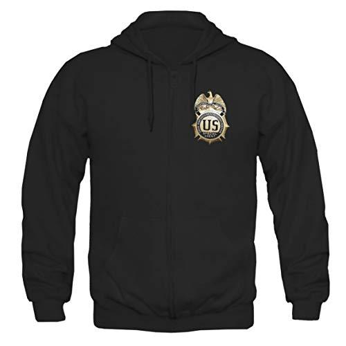 Tex-Ha DEA Logo FBI USA Crime LAPD SWAT Navy CSI CIS Cop Police Kapujacke Hoodie Jacke XL