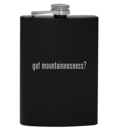 got mountainousness? - 8oz Hip Drinking Alcohol Flask