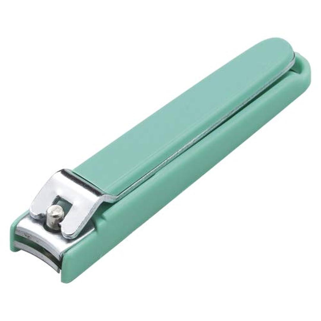 優越セール恒久的KT33714 全カバー付き爪切り グリーン