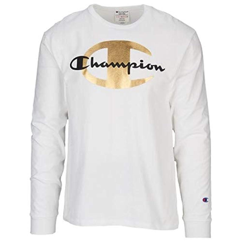 備品究極の工業用(チャンピオン)Champion Timberland Heritage Luxe LS T-Shirt メンズ Tシャツ [並行輸入品]