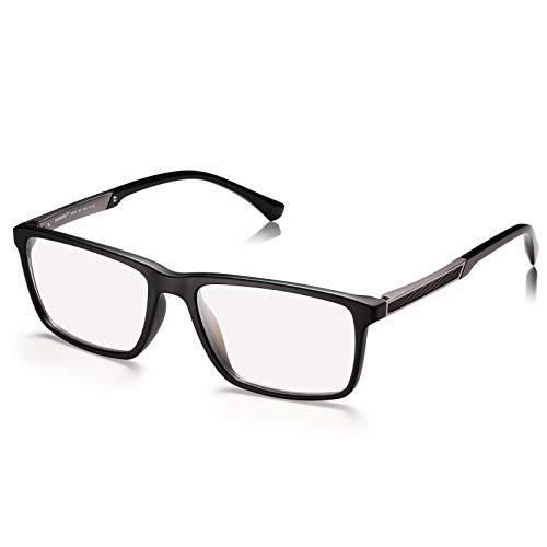 AVAWAY Photochrom Blaulichtfilter Brillen Herren Damen Computerbrille gegen Augensmüdigkeit, Kopfschmerze