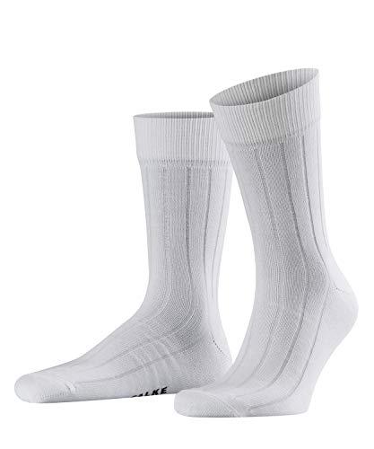 FALKE Unisex Socken Ass - 92% Baumwolle, 1 Paar, Weiß (White 2000), Größe: 35-38