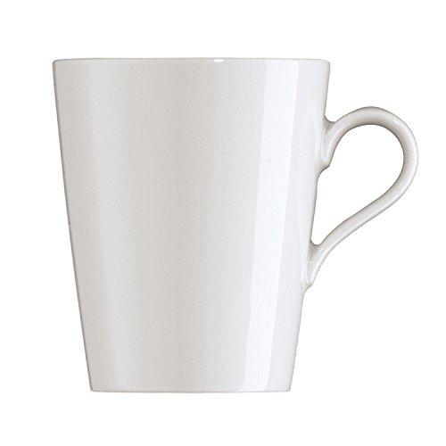 Arzberg Tric Becher SenCup, Kaffee Tasse, Kaffeebecher, White, Porzellan, 180 ml, 49700-800001-15577