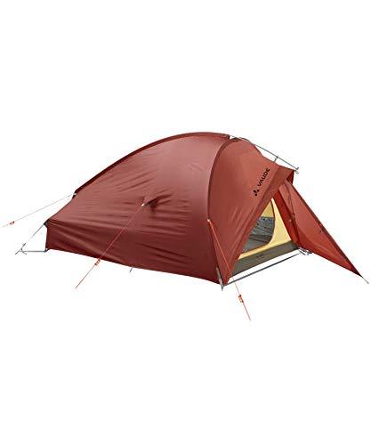 VAUDE 2-personen-zelt Taurus 2P, 2 Personen Kuppelzelt für Camping oder Wandertouren, leicht aufzubauen, buckeye, one Size, 114985940