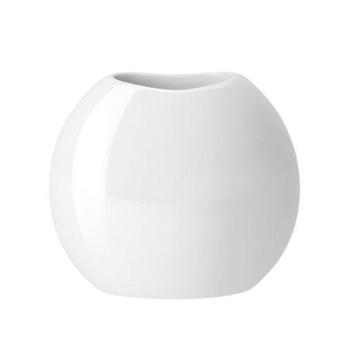 ASA Vase, Porzellan, weiß, 36x28x33 cm