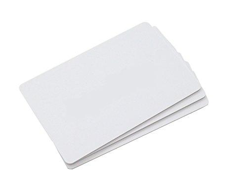 CHIPDRIVE Time Recording User Card (Mitarbeiter-Chipkarten) Touch&Go RFID - blanko - weiß (3 Stück)