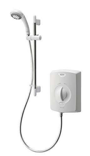 Aqualisa Aquastyle Electric Shower 8.5kW White&Chrome 90mm Single Spray ASE8521