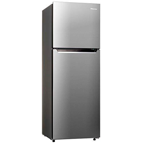 ハイセンス 冷凍冷蔵庫(幅55cm) 227L 2ドア 右開き HR-B2302 自動霜取機能付き ふたり暮らし シルバー