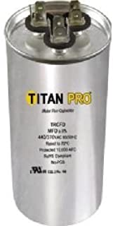Titan TRCFD405 Dual Rated Motor Run Capacitor Round MFD 40/5 Volts 440/370