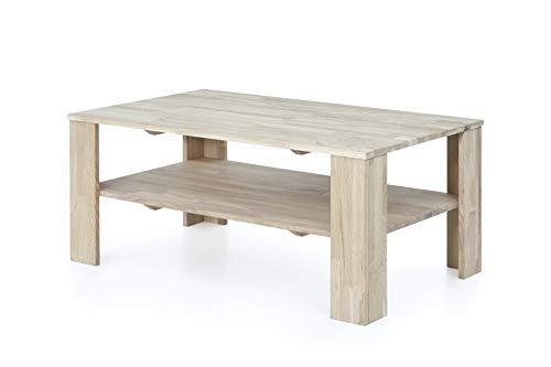 Furniture for Friends Möbelfreude Couchtisch Wohnzimmertisch Belania Wildeiche Bianco Massivholz geölt 1000 x 595 x 440 mm