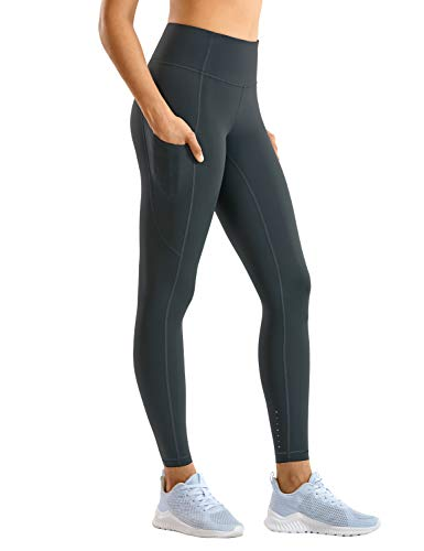 CRZ YOGA Women's Naked Feeling Gym Leggings Squat Proof High Waist Yoga Pants Sports Tights with...