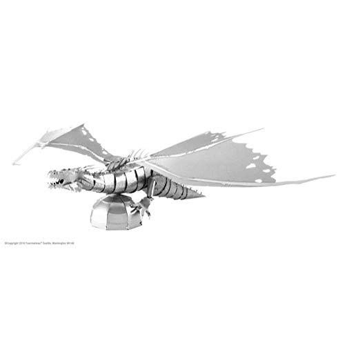 Metal Earth- Maqueta Dragon Gringott, Harry Potter Series (Fascinations MMS443)