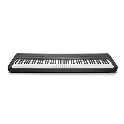 Yamaha Digital Piano P-45B Pianoforte Digitale dal Suono Acustico Autentico, Design Compatto, Leggero ed Elegante, Facile da Usare e Trasportare, Nero