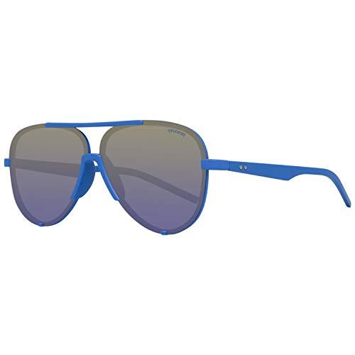 Polaroid PLD 6017/S PW ZDI Gafas de sol, Azul Bluette Sf Green, 60 Unisex adulto