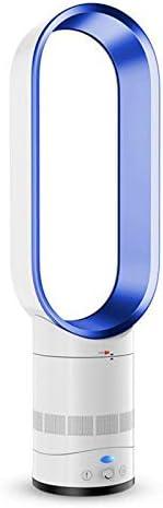 Ventilador sin aspas portátil, multiplicador de Aire silencioso, Torre de Piso Ventilador de refrigeración de Iones Negativos de Seguridad, sin Hojas con Control Remoto para Uso en el hogar,Mesa