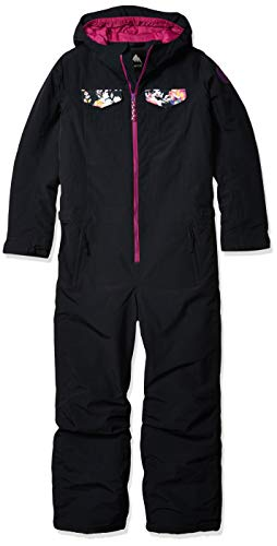 Burton Kids & Baby Game Piece One Piece, True Black/Secret Garden, Medium