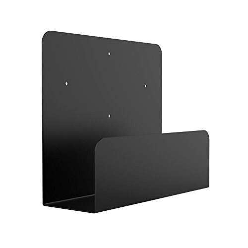 Oeveo Side Mount 142-10H x 4W x 12.5D   Computer Wall Mount - Compatible with Lenovo ThinkCentre SFF, Dell OptiPlex SFF, and Other Computers   SCM-142