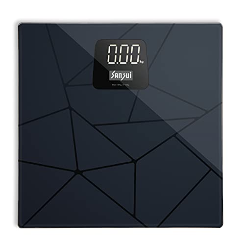 Sansui Digital Personal Body Weighing Scale, Strong & Best Tempered Glass Built...