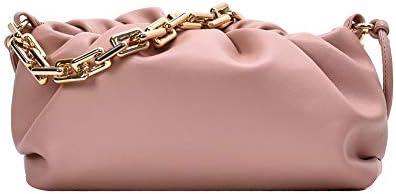 Women s Dumpling Bag Chunk Chain Dumpling Shoulder Handbag Cloud Clutch Purse for Women with product image