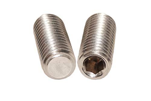 Tornillos de rosca M3x3 hasta M3x30 con hexágono interior y punta cónica (25 unidades)